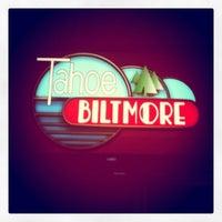 Photo taken at Tahoe Biltmore Lodge & Casino by Megan K. on 9/10/2011