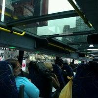 Photo taken at Megabus Bus Stop by Anissa on 1/27/2012