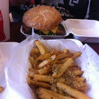 Photo taken at Phyllis' Giant Burgers - San Rafael by Pamela S. on 4/12/2012