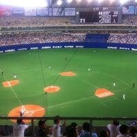 Photo taken at Nagoya Dome by Makoto T. on 6/26/2012
