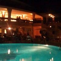 Photo taken at Marinedda Benessere e Relax Hotel Trinita d' Agultu by Klaus M. on 6/20/2011