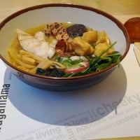 Photo taken at Wagamama by Shuhei Y. on 1/15/2012