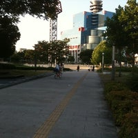 Photo taken at Ogimachi Park by oh_tukky on 7/14/2011