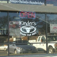 Photo taken at Kinder's BBQ by Kevin M. on 12/13/2011