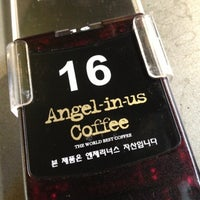 Photo taken at Angel-in-us Coffee by Stanure C. on 8/4/2012