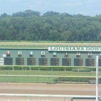 Photo taken at Harrah's Louisiana Downs by Cory B. on 6/26/2011