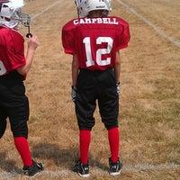 Photo taken at Avon High School Oriole Stadium by MC7576 on 8/4/2012