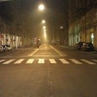 Photo taken at Via Irnerio by Enrico G. on 11/20/2011