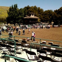 Photo taken at Rowell Ranch Rodeo Park by Katie I. on 5/20/2012
