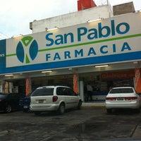 Photo taken at Farmacia San Pablo by Diego S. on 8/23/2011