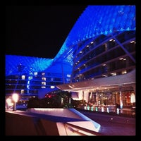 Photo taken at Yas Viceroy by Said D. on 11/21/2011