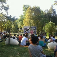 Photo taken at Jardim do Campo Grande by Bruno E. on 7/31/2011