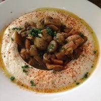 Photo taken at Hummus Place by Fabiola M. on 5/22/2012