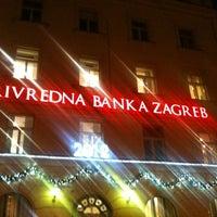 Photo taken at Privredna banka Zagreb (PBZ) by Vla P. on 12/21/2011