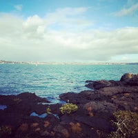 Photo taken at Rangitoto Island by Liam S. on 5/24/2012