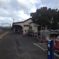 Photo taken at Swanson Train Station by Darren D. on 3/16/2012