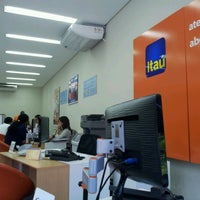 Photo taken at Itaú by Chris N. on 1/16/2012