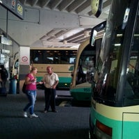 Photo taken at South Bus Station of Madrid by Sergej S. on 8/13/2012