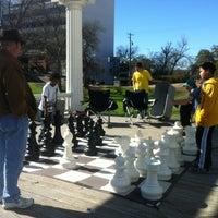 Photo taken at Austin Giant Chess by Tom B. on 1/14/2012