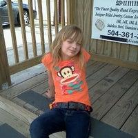 Photo taken at Bayou Snowballs by Caroline M. on 4/21/2011