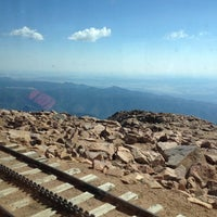 Photo taken at Pikes Peak Cog Railway by Maria P. on 7/12/2012