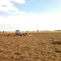 Photo taken at Skegness Beach by Emily L. on 8/21/2011