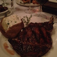 Photo taken at Barberian's Steak House by Wayland C. on 8/23/2012