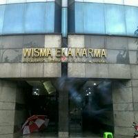 Photo taken at Wisma Eka Karma by El Diablo on 1/10/2012