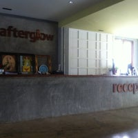 Photo taken at Afterglow Hostel by Aof O. on 3/27/2011