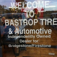 Photo taken at Bastrop Tire & Automotive by David B. on 9/30/2011