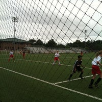 Photo taken at WRAL Soccer Center by Jackie W. on 8/25/2012