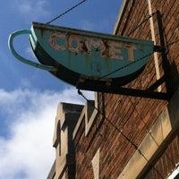 Photo taken at Comet Cafe by Aakar V. on 4/21/2012