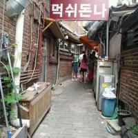 Photo taken at Mukshidonna by Yukyoung N. on 6/6/2012