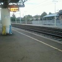 Photo taken at Stazione FS San Bonifacio by Damian G. on 10/13/2011