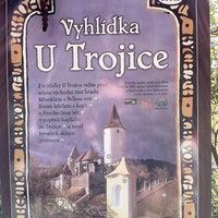 Photo taken at Vyhlídka U Trojice by Honza S. on 5/7/2011