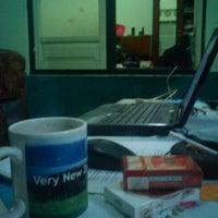 Photo taken at Teras [depan kamar] by Aan P. on 1/15/2012