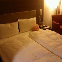 Photo taken at InterCityHotel Berlin-Brandenburg Airport by Andy K. on 12/26/2011