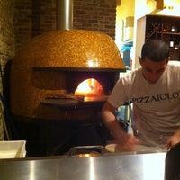 Photo taken at Bavaro's Pizza Napoletana & Pastaria by Danielle d. on 2/6/2011