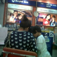 Photo taken at Bangkok Bank by Nookger p. on 1/28/2012