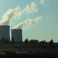 Photo taken at Dominion Power Plant by Andrea S. on 8/4/2012