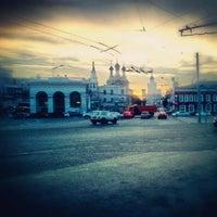 Снимок сделан в Таганская площадь пользователем Olga K. 8/1/2012