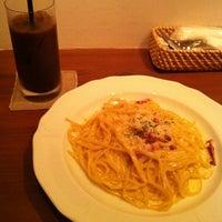 Photo taken at cafe fudoki by ピコ on 9/9/2011