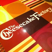 Photo taken at The Cheesecake Factory by Adela N. on 4/26/2012