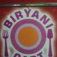 Photo taken at Biryani Cart by Peter G. on 12/22/2011