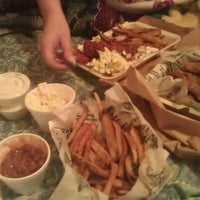 Photo taken at Wingstop by Ashley R. on 12/22/2011