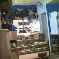 Photo taken at Blue 9 Burger by John K. on 12/23/2011