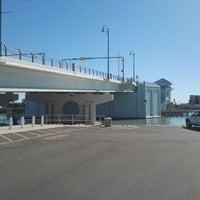 Photo taken at Johns Pass Bridge by Duane W. on 1/4/2012