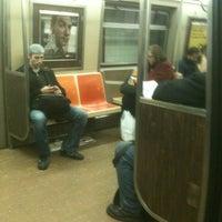 Photo taken at MTA Subway - F Train by Daisy on 12/2/2011