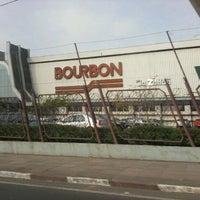 Photo taken at Bourbon Hipermercado by Fernanda V. on 9/17/2011