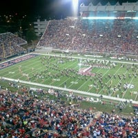 Photo taken at Vaught-Hemingway Stadium by Sandy B. on 11/20/2011